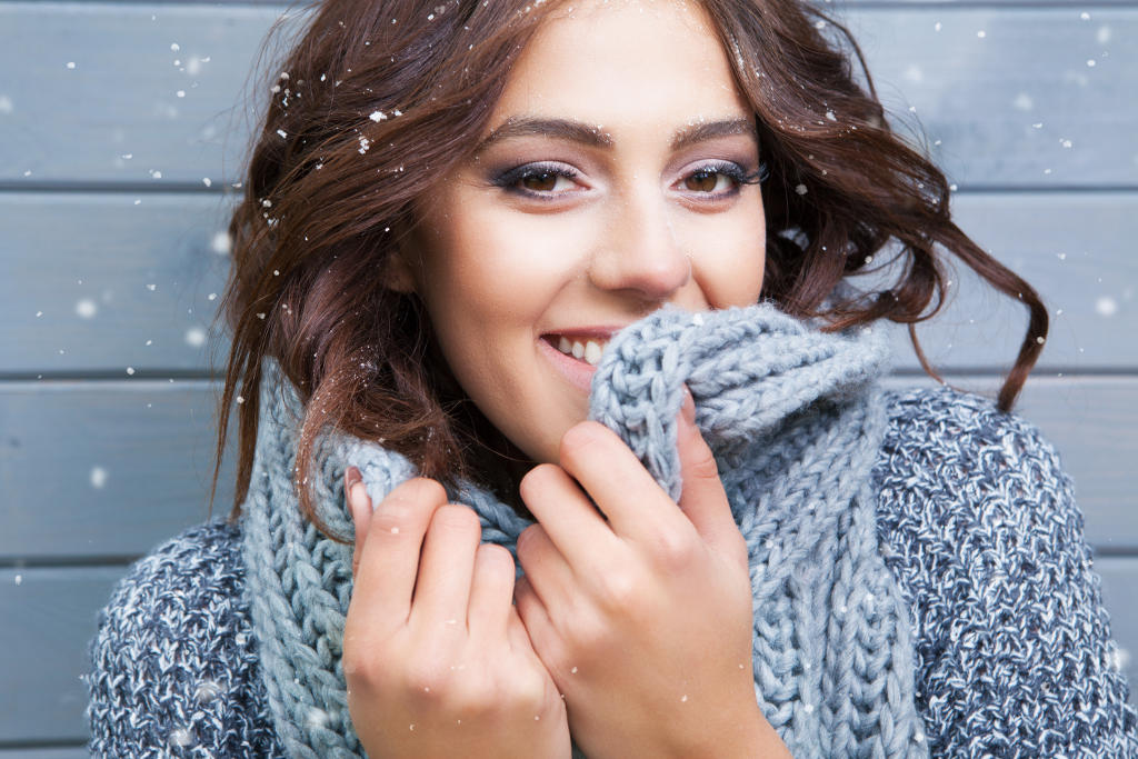 Bild Haut im Winter