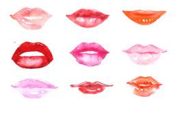 verschiedene Lippenformen richtig schminken (c) shutterstock.com