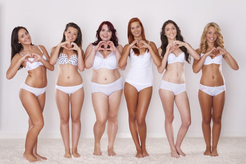 Frauen, die ihren Körper lieben ©shutterstock