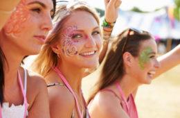 Festival Make-up. © shutterstock.com