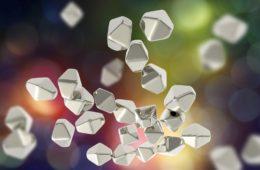 Künstlerische Ansicht von Nanomaterialien - EYVA-Blog